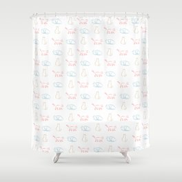 Cats Cats Cats Shower Curtain