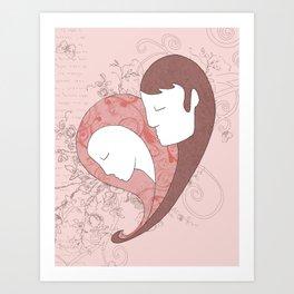 Attachment Art Print