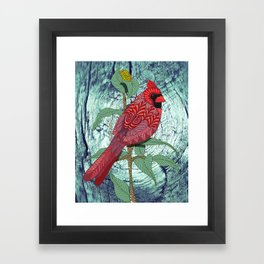 Virginia Cardinal Framed Art Print