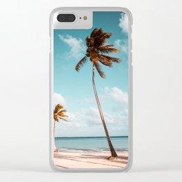 Dominican Republic #society6 #decor #buyart Clear iPhone Case