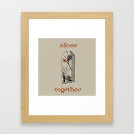 Alone Together Framed Art Print
