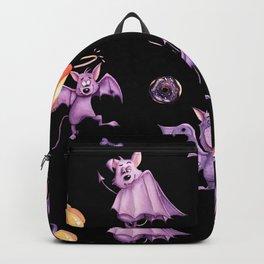 Purple bats Backpack