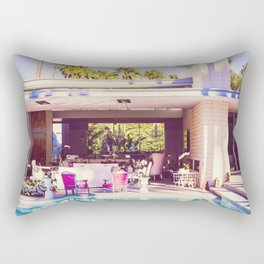 2298 Mid-Century Modern Stanbridge Estate Palm Springs Rectangular Pillow