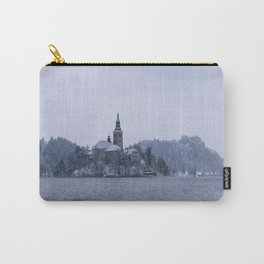 Misty Bled Lake Carry-All Pouch