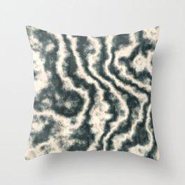Dark Emerald N2 Throw Pillow