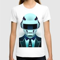 daft punk T-shirts featuring Daft Punk by Alli Vanes