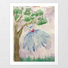 Dancing in the Breeze Art Print