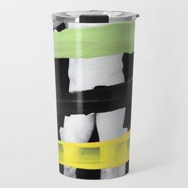 Untitled (Finger Paint 8) Travel Mug