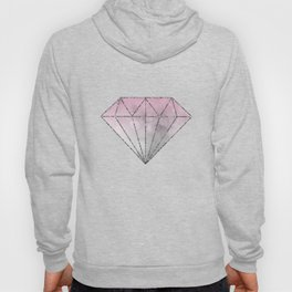 Pink  Grey Soft Gradient Bokeh Lights Hoody