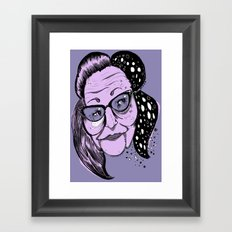 Big Edie Framed Art Print