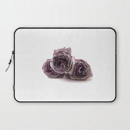 Purple wilted roses Laptop Sleeve