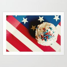 Happy Birthday USA Art Print