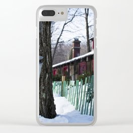 Sugar shack Clear iPhone Case
