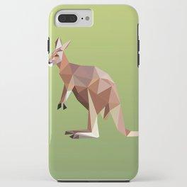 Geometric Kangaroo iPhone Case