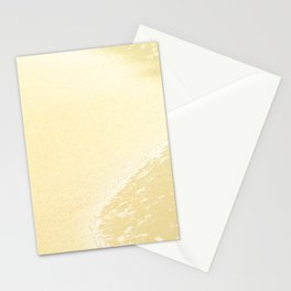 Kapalua Beach sparkling golden sand and seafoam Maui Hawaii Stationery Cards