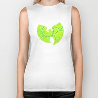 lime green Biker Tanks featuring Lime Wu by kiveson