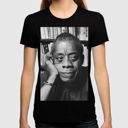 Baldwin and Books <3 T-shirt