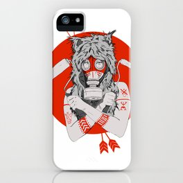 Lady of the Wild iPhone Case