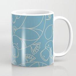 Minimalist Platypus Coffee Mug