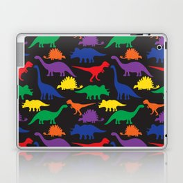 Dinosaurs - Black Laptop & iPad Skin