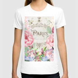 Paris Flower Market III T-shirt