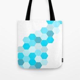 Honeycomb - Turq Tote Bag