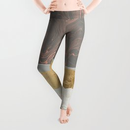 Coral Sky Leggings