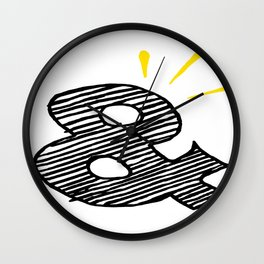 """It Means """"and"""" Wall Clock"""