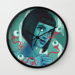 Panspermia Wall Clock