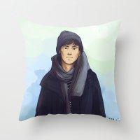 jem Throw Pillows featuring Jem Carstairs by taratjah