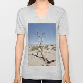 Tree branch Dune Death Valley Unisex V-Neck