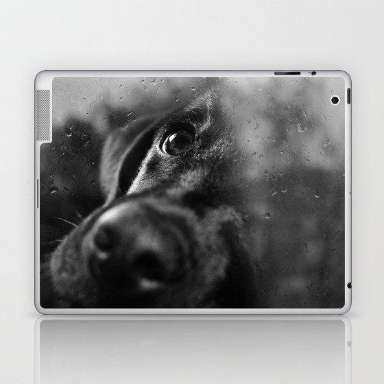 dog char Laptop & iPad Skin