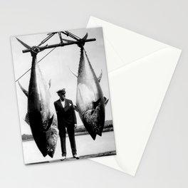 World Record Tuna - Thon record Stationery Cards