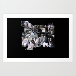 Oliver Twist House Art Print