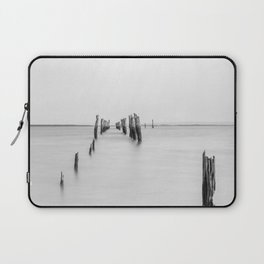 Old Tenby Point Jetty Laptop Sleeve