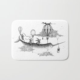 Whiskers Narwhal Bath Mat