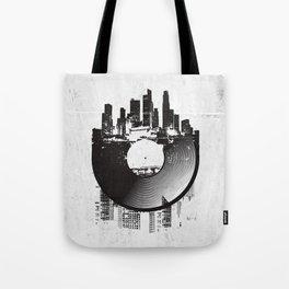 Urban Vinyl Tote Bag