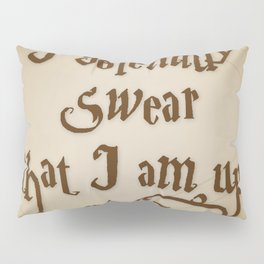 I Solemnly Swear That I'm Up To No Good Pillow Sham