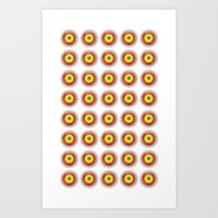 techno Art Prints featuring techno abstract by laika in cosmos