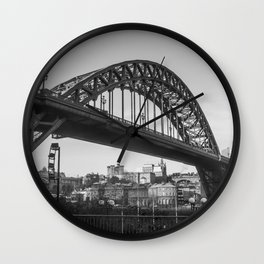 Bridge City, Newcastle UK Wall Clock