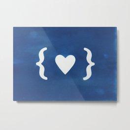 Paper Heart Metal Print
