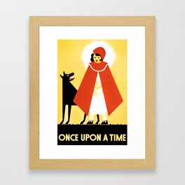 Once upon a time 4 Framed Art Print
