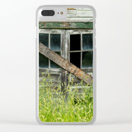 Shuttered Clear iPhone Case