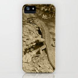 Haria Lizard Lobos Tint iPhone Case