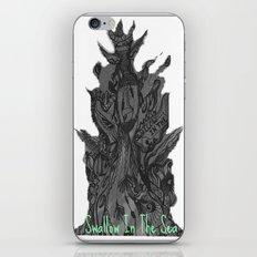 Swallow In The Sea iPhone & iPod Skin