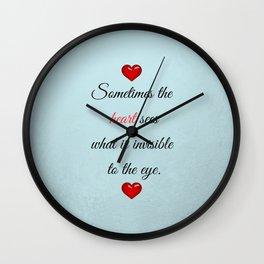 Saint Valentine's Day Wall Clock