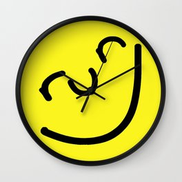 Run Smile Wall Clock