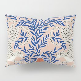 Leopard Vase Pillow Sham