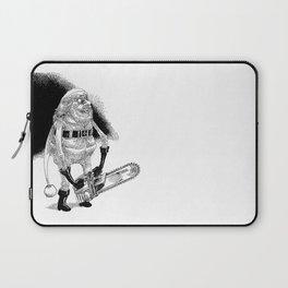 Père Noël effrayant / Creepy Santa Laptop Sleeve
