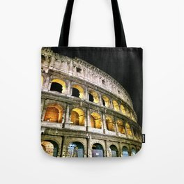 Il Colosseo - The Coliseum at Night (Rome, Italy) Tote Bag